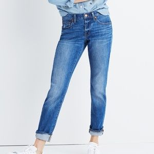 Madewell slim boyjean walton wash jeans 26